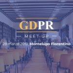 GDPR Meet Up | Privacy, cosa c'è da fare spiegato facile facile | Giovedì 28 marzo 2019
