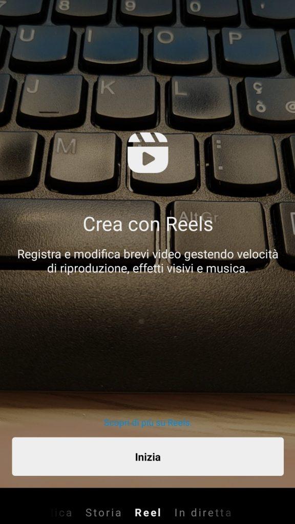 Creare Reel